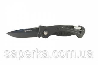 Нож складной Ganzo G611, черный , фото 2