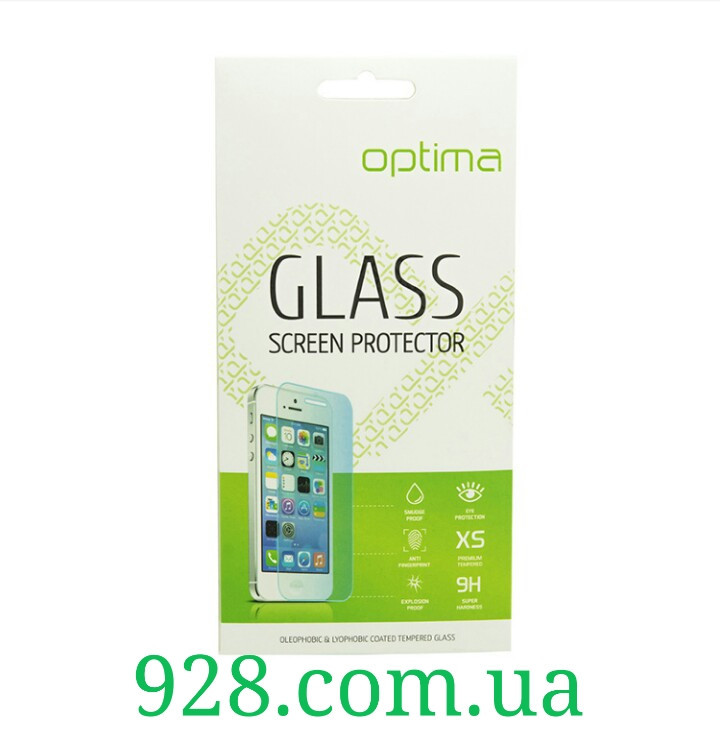Стекло Bravis A401 Neo защитное закаленное для мобильного телефона, смартфона.