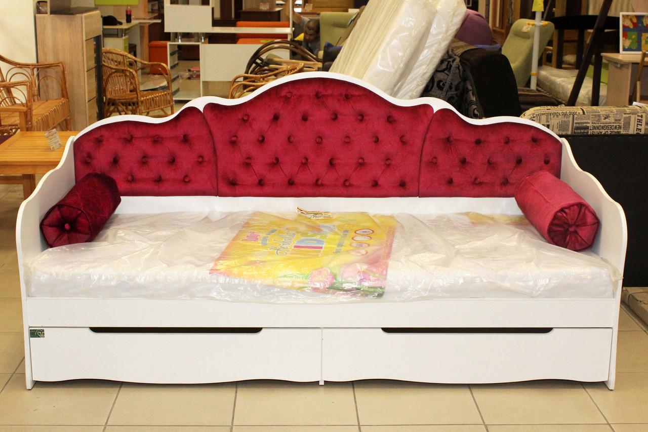Подростковая кровать серии 7-3-1-95 на ламелях