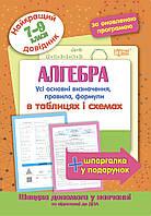 Алгебра в таблицах и схемах 7-9 классы. Лучший справочник.