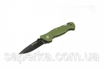 Нож складной  Ganzo G611, зеленый, фото 2