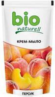 """Жидкое мыло Bio Naturell """"Персик"""" дой-пак, 500 мл."""