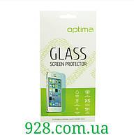 Стекло на LG K8/K350E закаленное защитное для мобильного телефона.