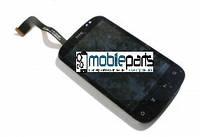 Оригинальный  Дисплей (Модуль) + Сенсор (Тачскрин) для HTC A310e Explorer с рамкой (Черный)