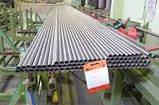 Диаметр 48,3х2,5мм Трубы нержавеющие AISI 304 / AISI 201 tig 600 grit Полированная Зеркальная в пленке Порезка, фото 2