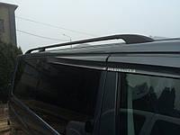 Черные рейлинги на Фольцваген Т5 Транспортер 2003+