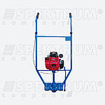 Виброрейка Spektrum РВ-01Д бензиновая (Honda GX35), с лезвием 1 м, фото 2