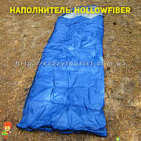 Cпальный мешок Royal Camp SP1300-blue (hollowfiber) Польша, фото 1