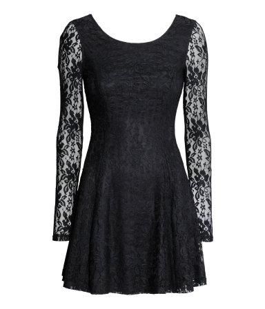 Новое кружевное платье H&M
