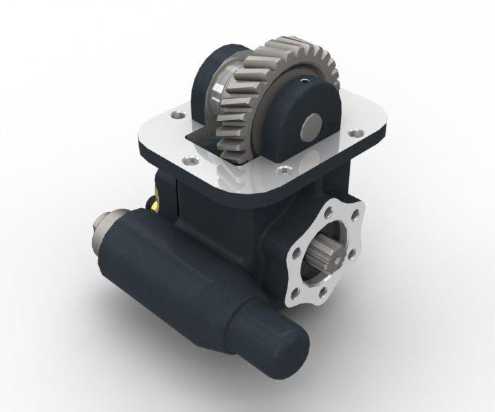 Коробка Відбору Потужності МАЗ, КРАЗ, УРАЛ (ЯМЗ-236, -238) OMFB (Італія)