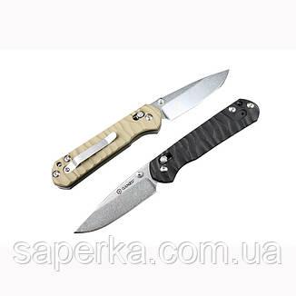 Нож складной Ganzo G717, черный, фото 2