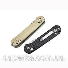 Нож складной Ganzo G717, черный, фото 3