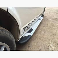 Пороги площадки для Fiat 500X
