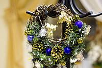 Скоро Новый Год! Новогодний венок маленький. Украсьте дом вместе с нами.