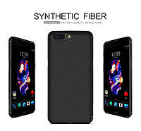 Чехол Nillkin Synthetic fiber для OnePlus 5  черный