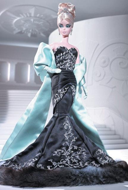 Колекційна лялька Барбі Силкстоун Fashion Model Silkstone Stolen Magic Barbie