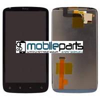 Оригинальный дисплей (модуль) + сенсор (тачскрин) для HTC Sensation | G14 | Z710e (черный)