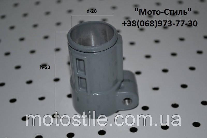 Хомут верхнего редуктора для бензокосы, мотокосы Sadko GTR 335-4T