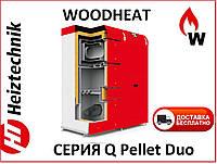 Котел пеллетный  Heiztechnik Q Pellet Duo 45 кВт (Польша) Автоматический