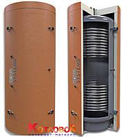 Буферная ёмкость (теплоаккумулятор) AquaSystems серии AQS-T2B с двумя теплообменниками