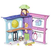 Литл Пет Шоп Игровой набор маленький Зоомагазин Littlest Pet Shop Pet Shop Playset