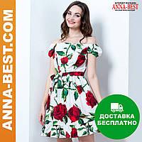 "Короткое нарядное платье ""Розалия"""