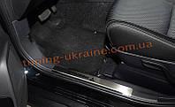 Накладки на внутренние пороги NataNiko на Mitsubishi Outlander XL 2012-2014