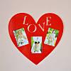 Фоторамка LOVE (сердце)