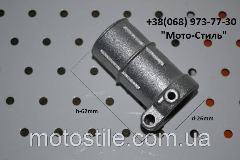 Хомут верхнего редуктора d-26 для бензокосы Тип №2