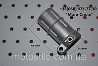 Хомут верхнего редуктора d-26 для бензокосы Тип №2, фото 1