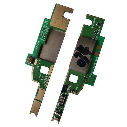 Шлейф для Sony E2303 Xperia M4/E2312/E2333, с микрофоном, плата антенны, фото 2
