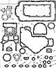 173-9716 Набір прокладок нижній на Caterpillar 3054