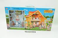 Дом игрушечный Happy Family 012-03, кукольный домик