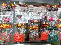 РАСПРОДАЖА набор для плетения разных цветов силиконовые прочные