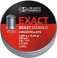 Пули пневм JSB Beast 4,52 мм 1.05 гр. (200 шт/уп)