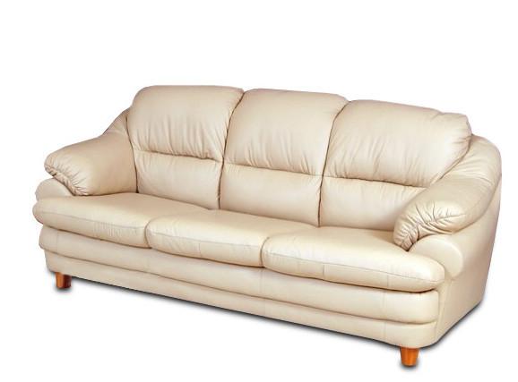 Кожаный диван Сара, раскладной диван, мягкий диван, мебель из кожи, диван