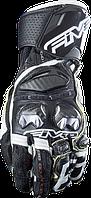 Мотоперчатки FIVE RFX Race кожа черный белый M