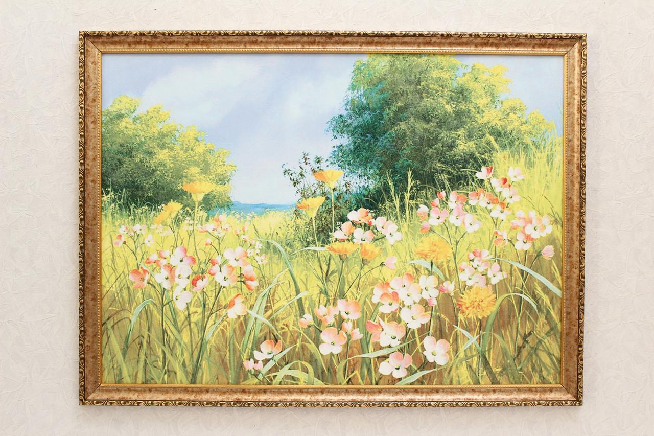 """Картина """"Цветы в поле"""""""