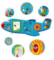 Настенный бизиборд Самолет 50673 Viga Toys