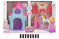 """Домик для кукол """"Замок"""" SS011B, кукольный домик"""