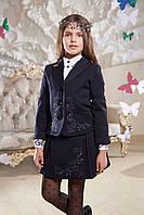 Школьный жакет с вышивкой Маргарет Suzie Размеры 140, 146, 158