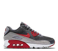 Мужские Кроссовки Nike  Air Max 90 Wolf Grey/Red
