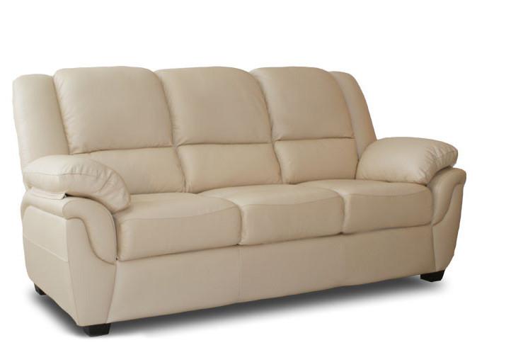 Кожаный диван Alabama, не раскладной диван, мягкий диван, мебель из кожи, диван