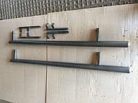 Боковые подножки Chevrolet Niva труба молотковый