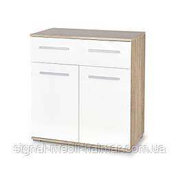Комод LIMA KM-1 halmar (білий/sonoma)