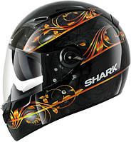 Мотошлем SHARK Vision-R Divine черный оранжевый M