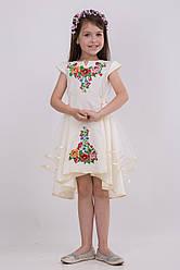 Незвичайне вишите плаття для дівчинки
