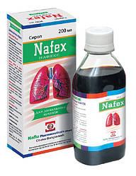 Сироп «Нафекс» –для применения при хронических заболеваний дыхательных путей, способствует смягчению кашля