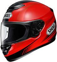 Мотошлем Shoei Qwest Paragon TC-1 красный черный XXL