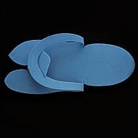 Одноразовые тапочки для педикюра синие